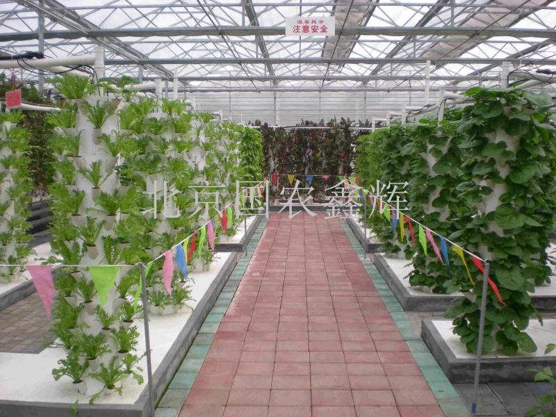 天津西青区水高庄园智能温室农业科技馆